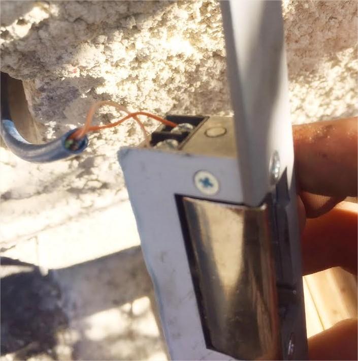 Gache Electrique Portillon : Installer une g che électrique sur un portillon