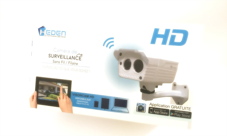 Test camera fixe hd exterieur heden for Test camera ip exterieur