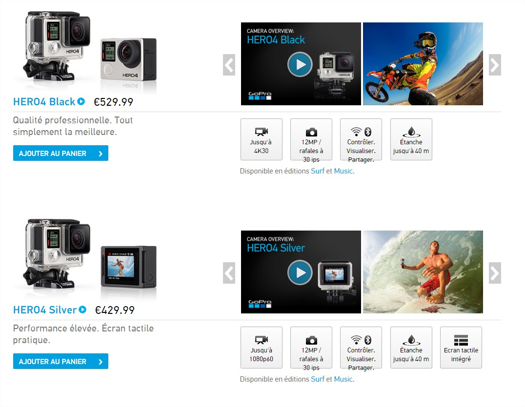 test de la gopro hero 4 silver. Black Bedroom Furniture Sets. Home Design Ideas