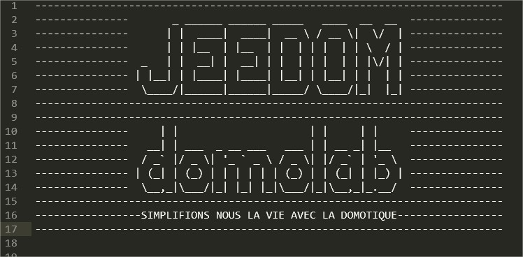 jeedom-ssh-message-login-ascii