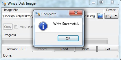 write success