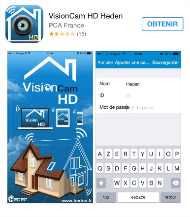 visioncam HD