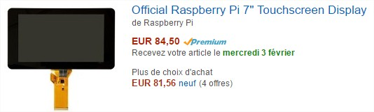 Amazon.fr  écran raspberry pi - Google Chrome