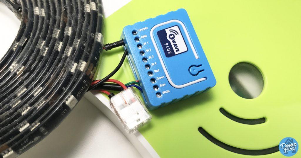 test-qubino-rgbw-box-domotique-eedomus-1024x539 Notre Veille : Installation du contrôleur RGBW de Qubino sur la box domotique eedomus