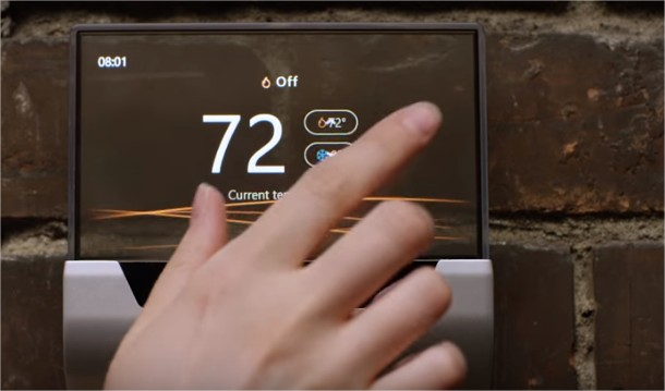 Miicrosoft-glas-thermostat-connecte