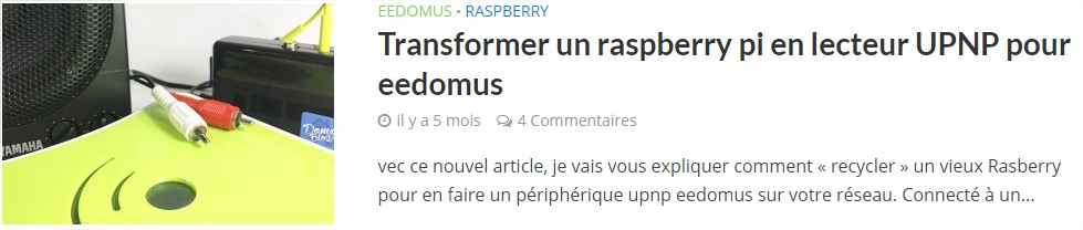 player-upnp-eedomus-raspberry