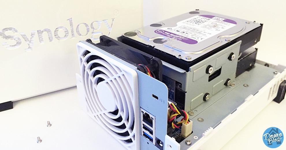 Comment changer les disques dur d'un NAS Synology pour augmenter la capacité
