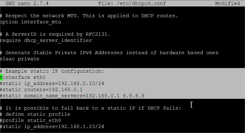 static-ip-raspbian-stretch-comment-faire