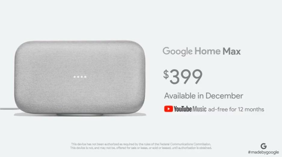 google-home-max-tarif-prix