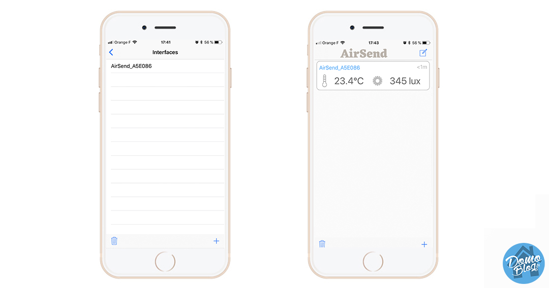 airsend-dashboard-iphone-application