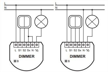 dimmer2-fibaro-schéma