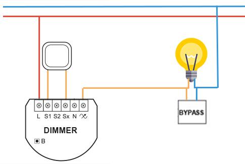 fibaro-bypass-dimmer-schema-domotique