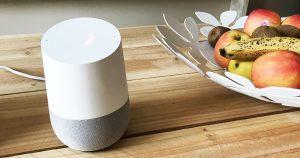Découverte et installation du Google Home pour piloter la domotique de la maison