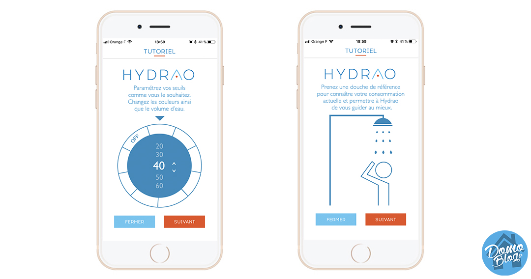 hydrao-test-douche-connnectee-domotique-smarthome-config