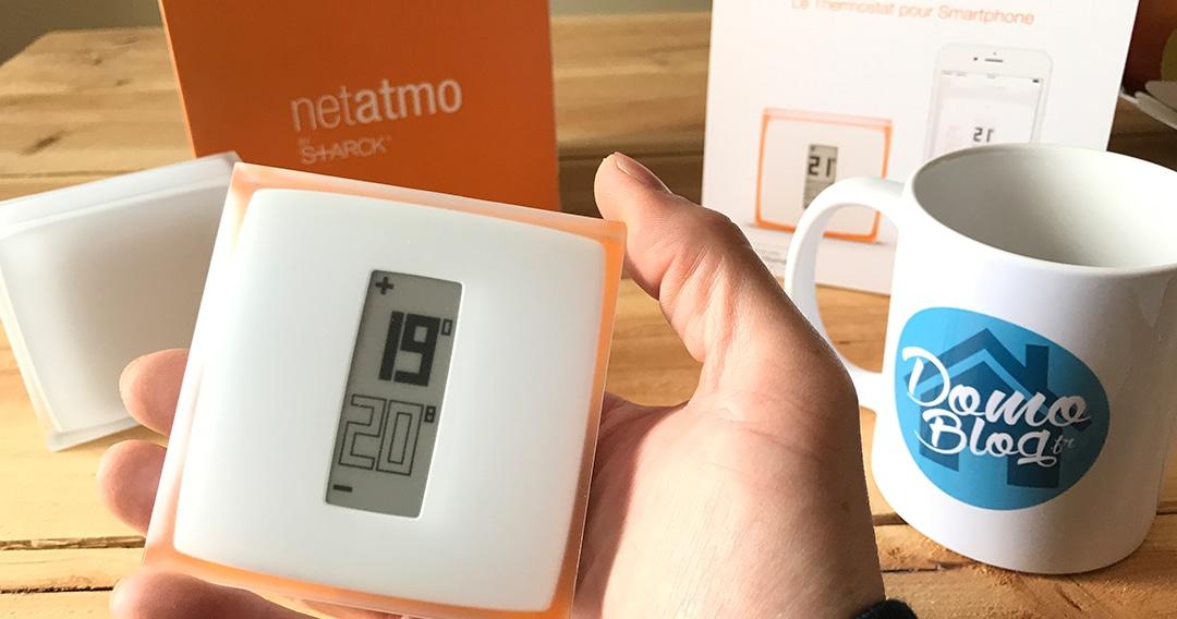 Passez l'hiver au chaud avec le thermostat Netatmo
