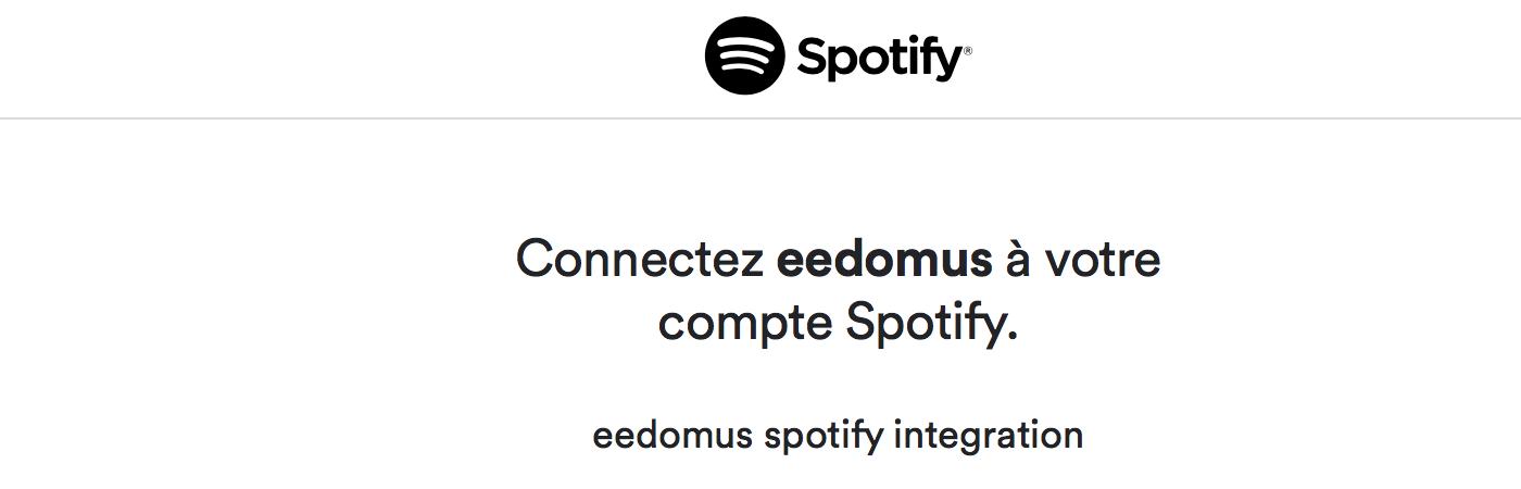 eedomus-connexion-api-spotify