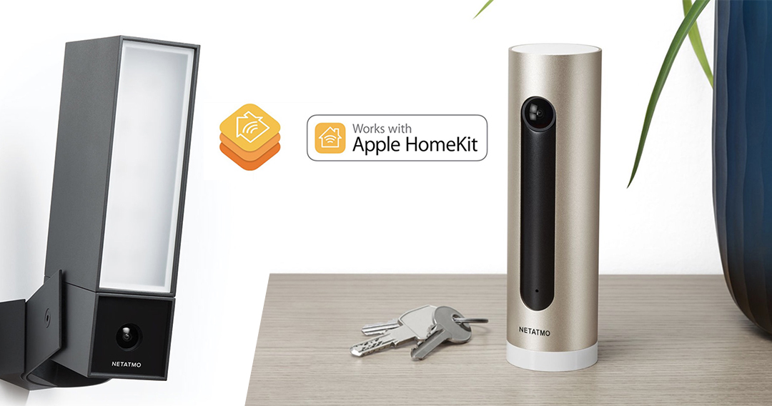 les cam ras netatmo presence et welcome maintenant prise en charge dans homekit. Black Bedroom Furniture Sets. Home Design Ideas