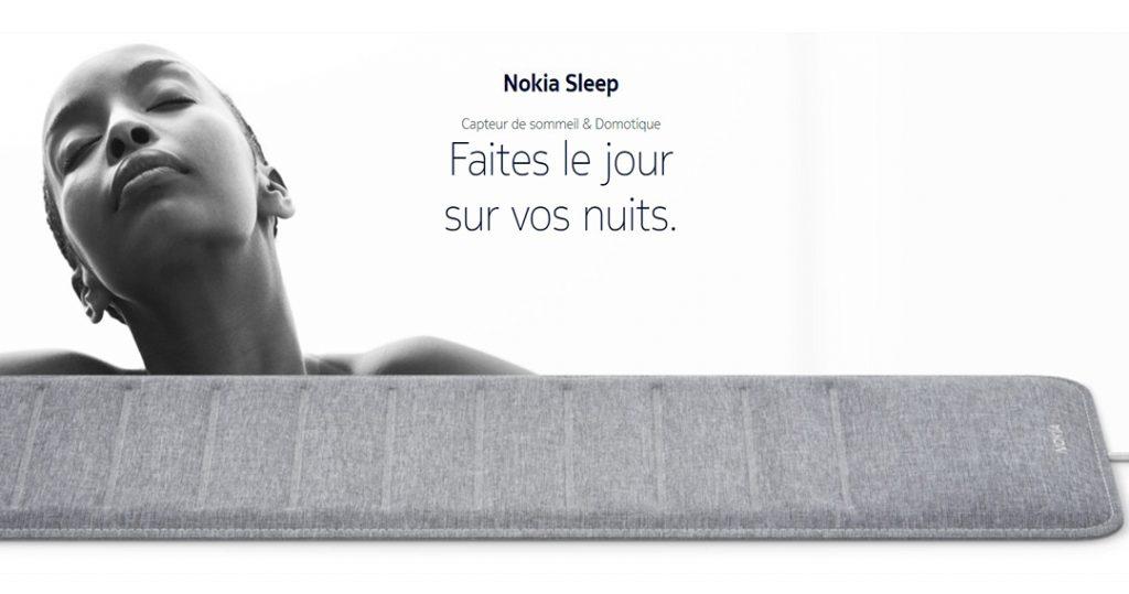 nokia-sleep-capteur-sommeil-connecte-analyse-iot-domotique-1024x539 Notre Veille : Nokia prendra soin de votre sommeil avec son nouveau capteur connecté, le Nokia Sleep