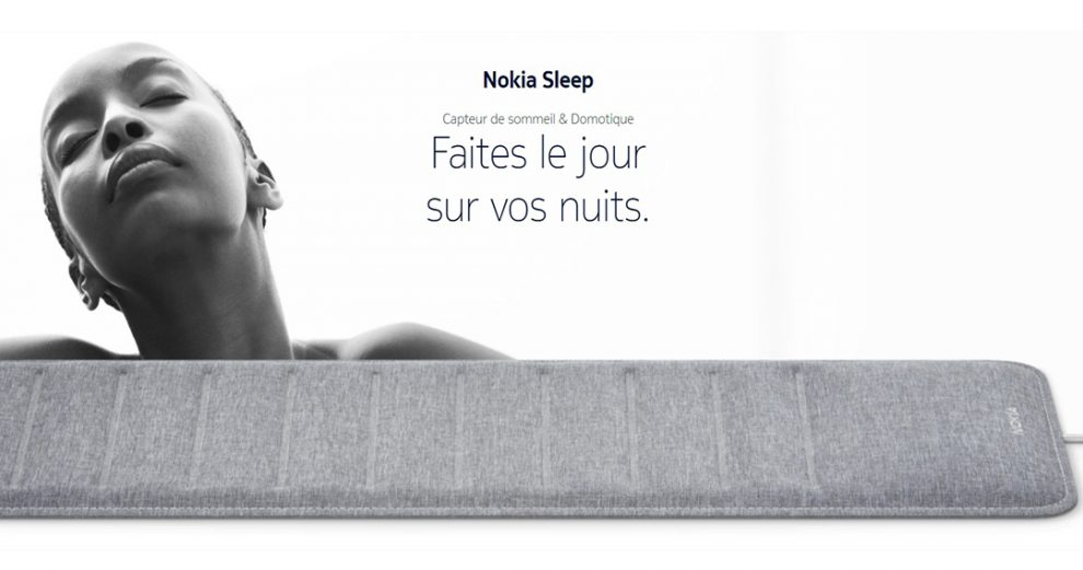 nokia-sleep-capteur-sommeil-connecte-analyse-iot-domotique