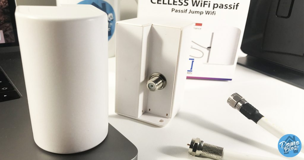 wifi-passif-celless-antenne-cable-coaxial-tv-1024x539 Notre Veille : Test de Celless, ou comment étendre votre signal wifi en passif simplement par un câble coaxial