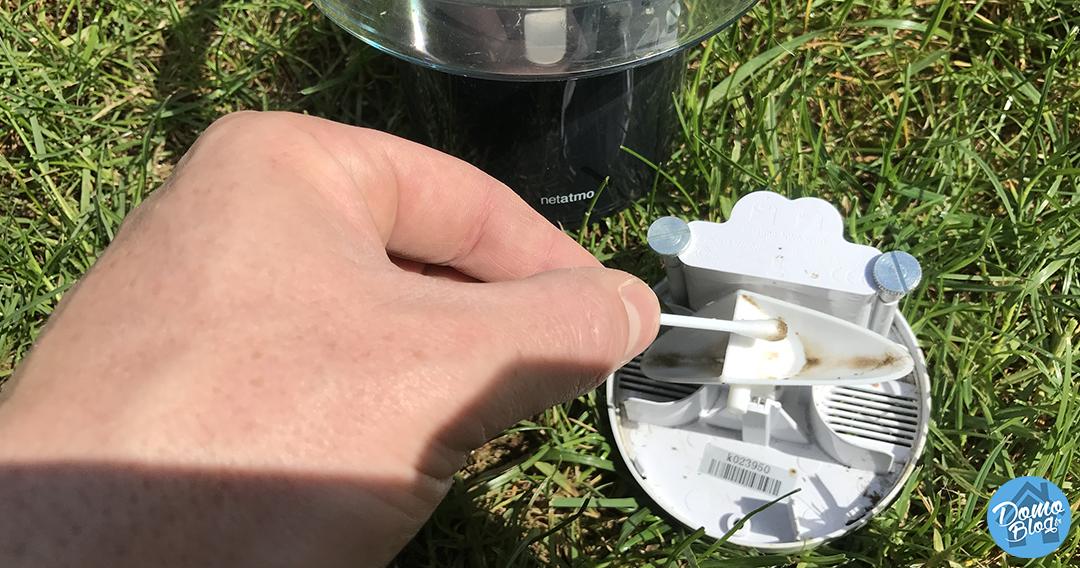 nettoyage-oget-pluviometre-netatmo-iot-domotique