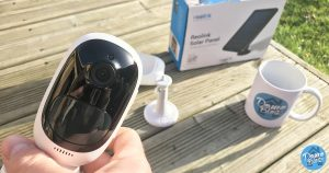 Test de la camera sans fil et autonome Argus 2 de Reolink et son panneau solaire