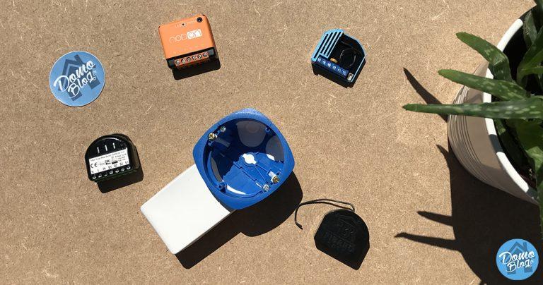 La boite d'encastrement à chaussette, la solution à l'installation des modules domotiques encastrables Fibaro ou Qubino