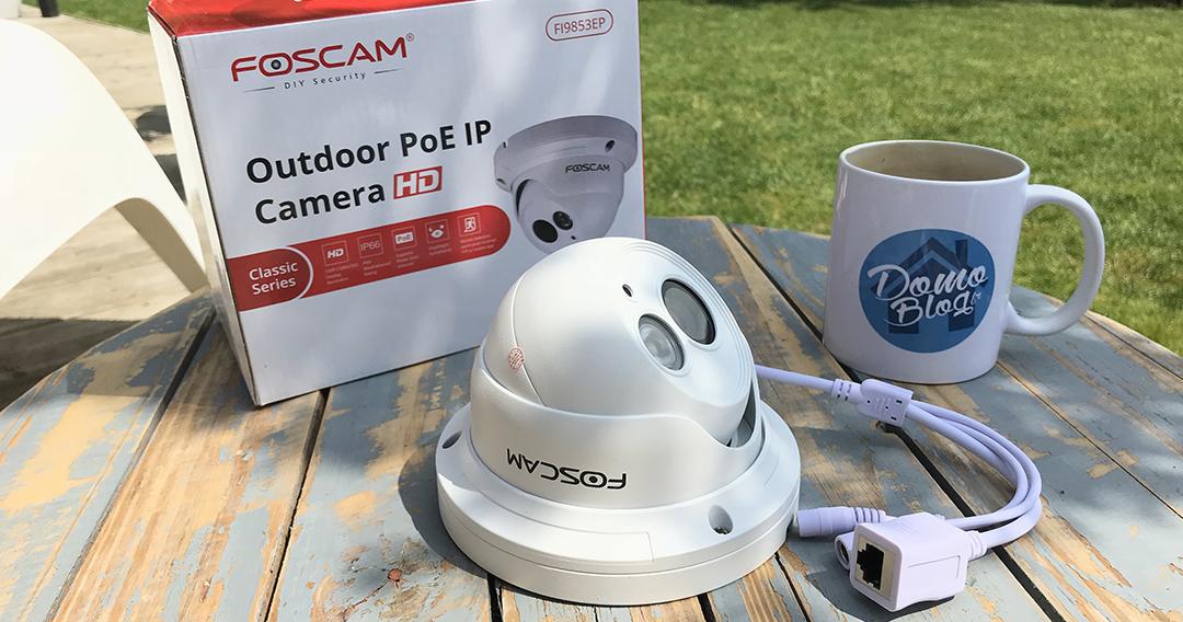 Test de la camera IP PoE pour l'exterieur Foscam FI9853EP