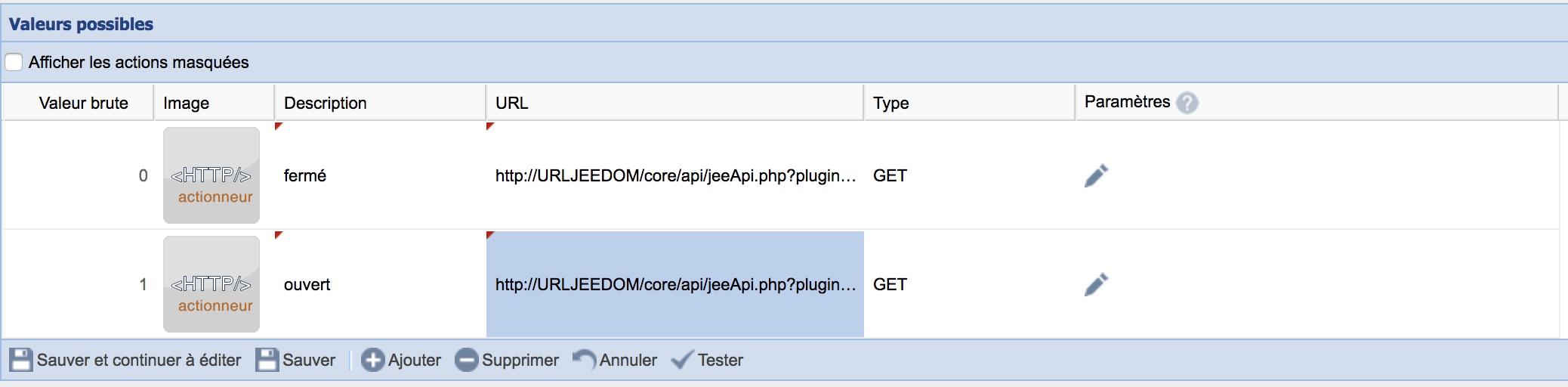update-jeedom-garage-eedomus-actionneur-http