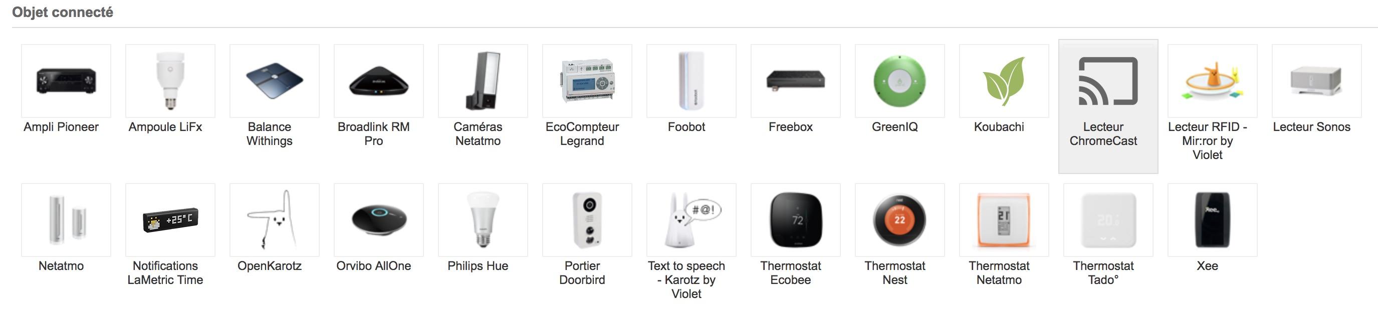 demandez google de le faire avec la domotique eedomus. Black Bedroom Furniture Sets. Home Design Ideas