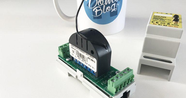 Test des adaptateurs Eutonomy EuFix rail DIN pour les modules Fibaro