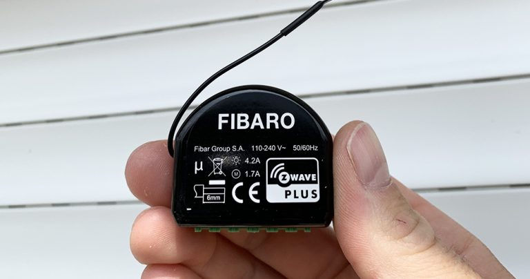 Fibaro roller shutter : comment installer le module domotique pour volet roulant Z-wave
