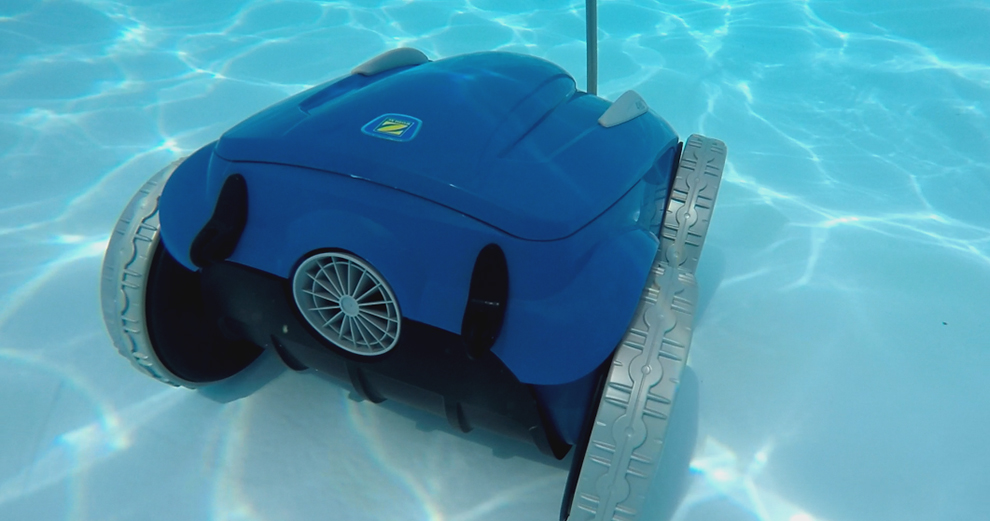 Test du robot nettoyeur de piscine connect zodiac rv5480 iq for Domotique piscine