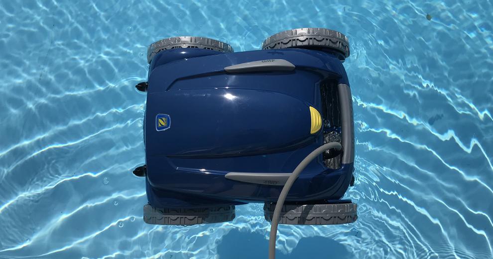 Test du robot nettoyeur de piscine connect zodiac rv5480 iq for Test robot piscine