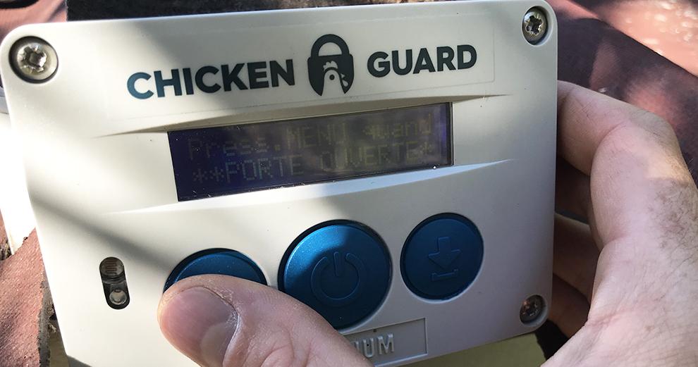 chicken-guard-reglage-ouverture