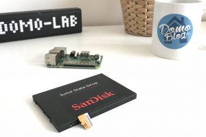 Comment installer Jeedom sur un disque dur SSD sur Raspberry Pi