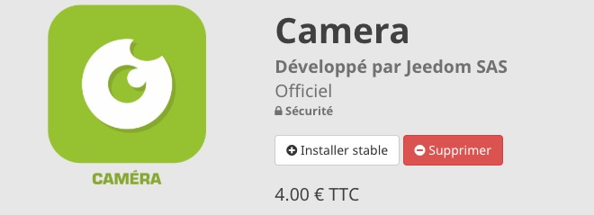 camera-jeedom-plugin-installation