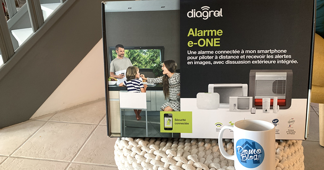 test alarme diagral eone e one maison connectee smarthome. Black Bedroom Furniture Sets. Home Design Ideas
