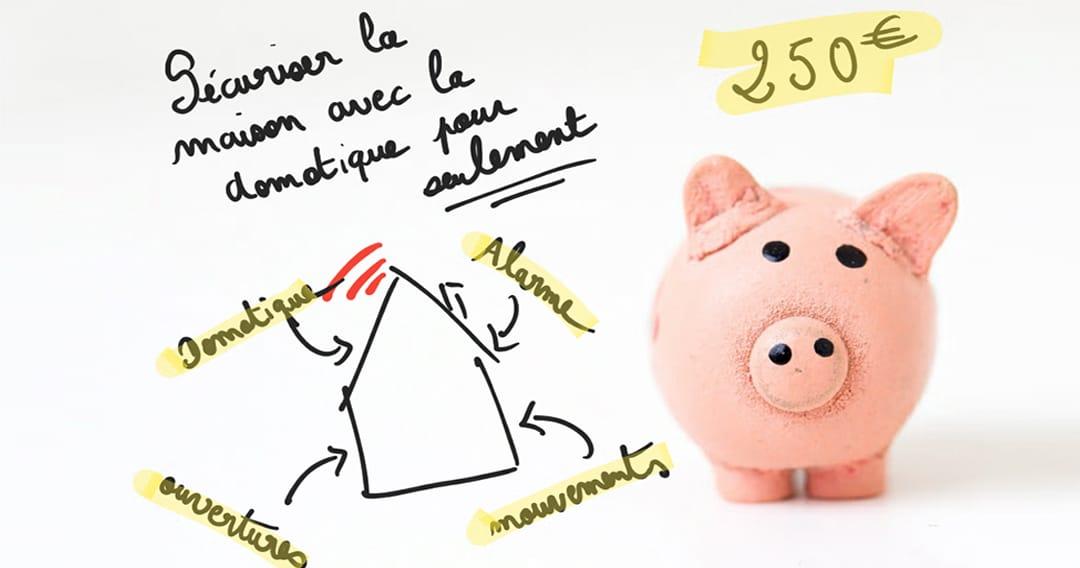 Domotique budget : Une alarme domotique et évolutive pour moins de 250€