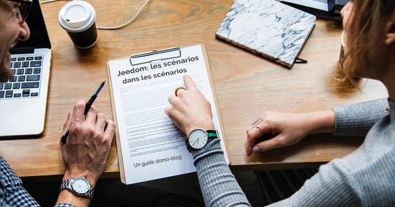 Les scénarios Jeedom : Les scénarios dans les scénarios