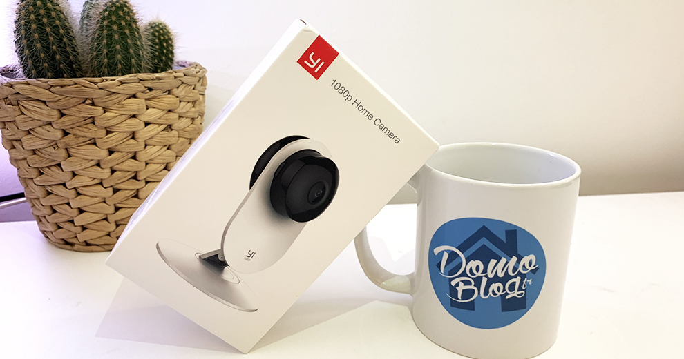 Test de la caméra wifi d'intérieur Yi 1080p Home Camera