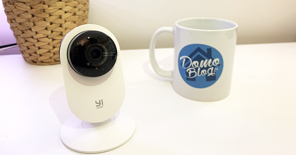 Test de la caméra wifi Xiaomi Yi 1080p Home Camera -