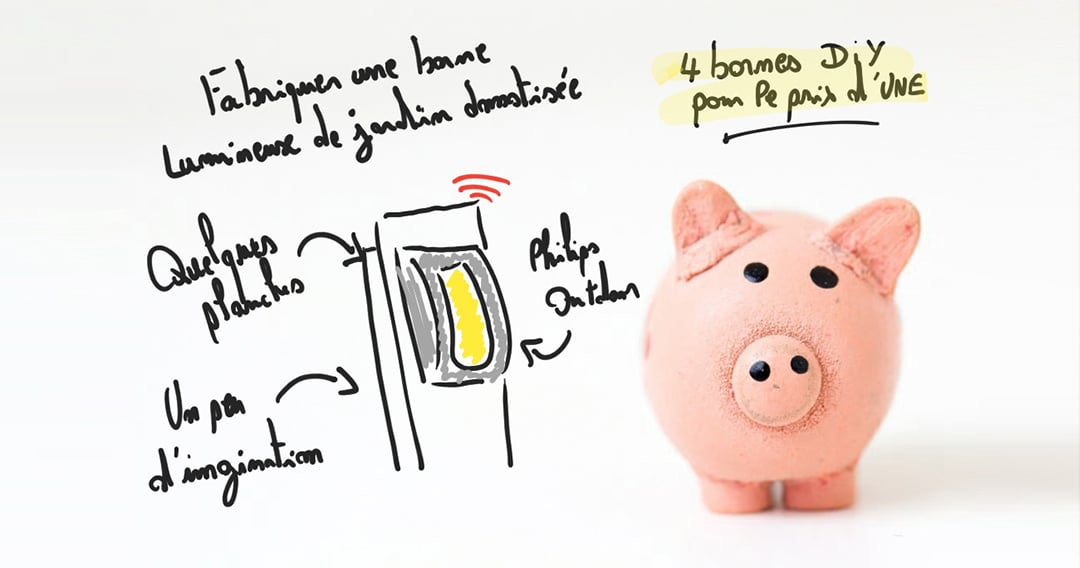 Domotique Budget : Fabriquer quatre bornes de jardin connectées pour le prix d'une