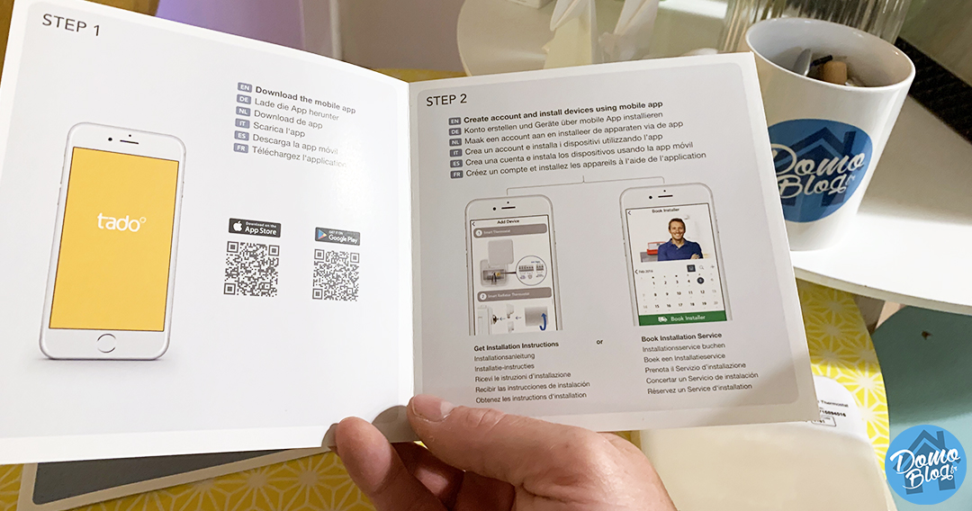 tado-thermostat-livre-guide-installation
