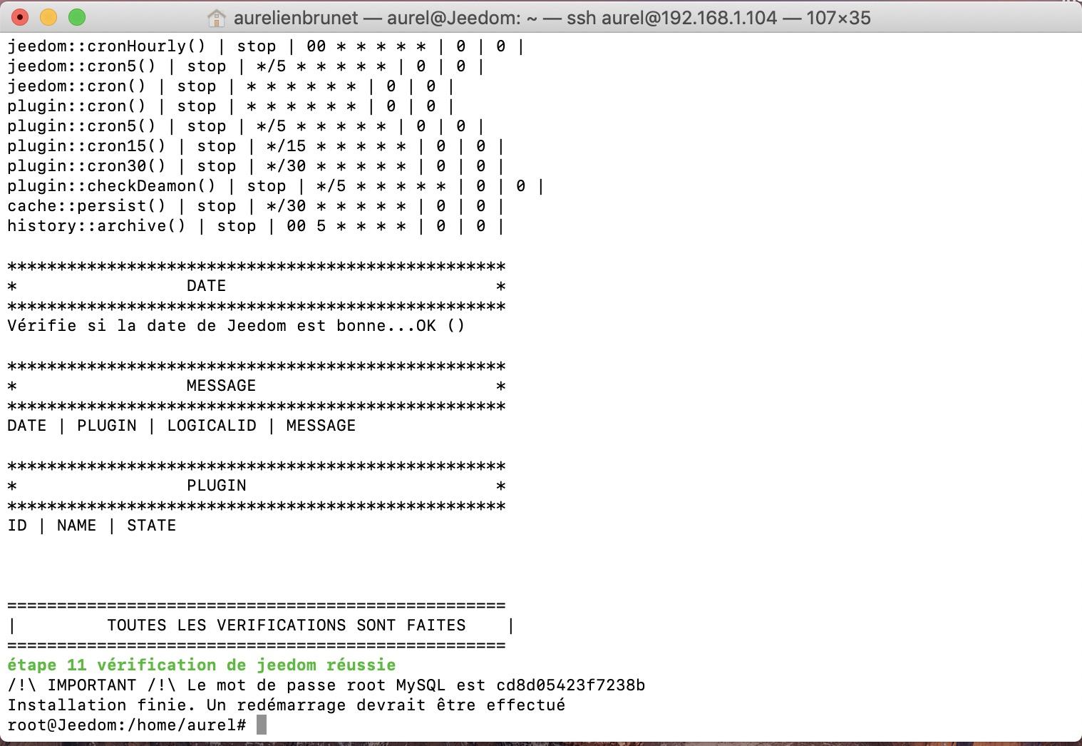 Jeedom-installation-debian-linux-vm-esxi-success