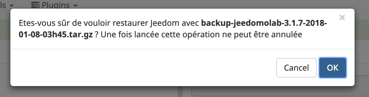 Jeedom-restauration-domotique-raspberrypi-vm-esxi-sauvegarde-fichier