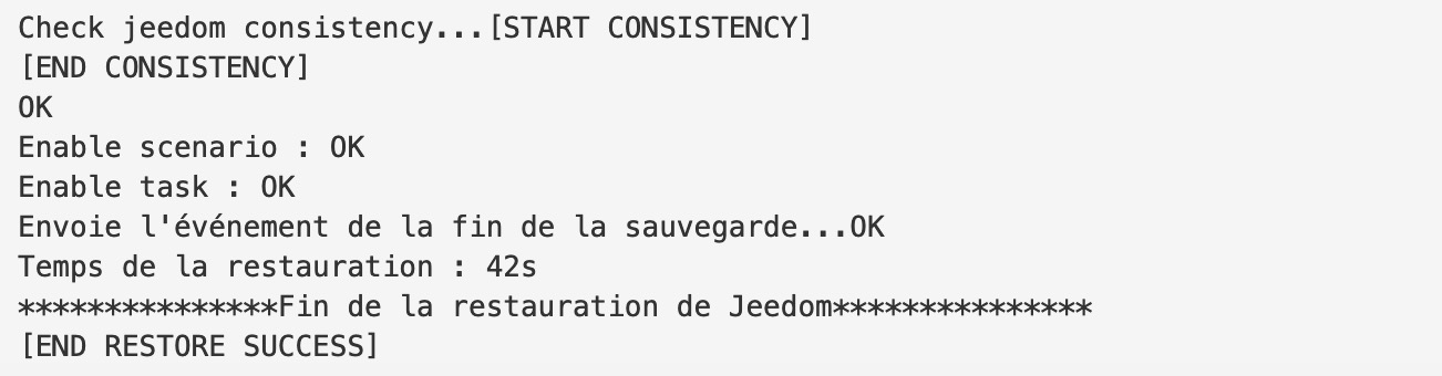 Jeedom-restauration-domotique-raspberrypi-vm-esxi-sauvegarde-success