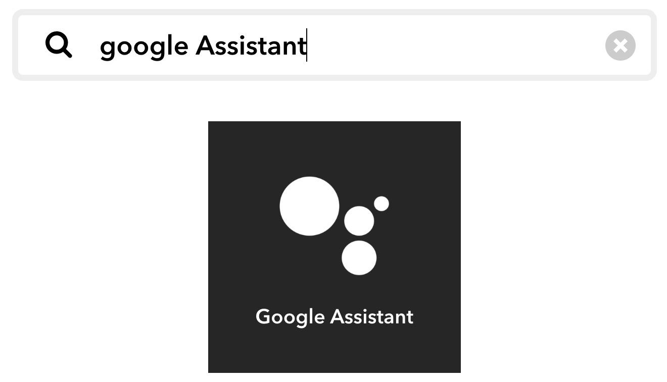 configuration du service google assistant pour Jeedom