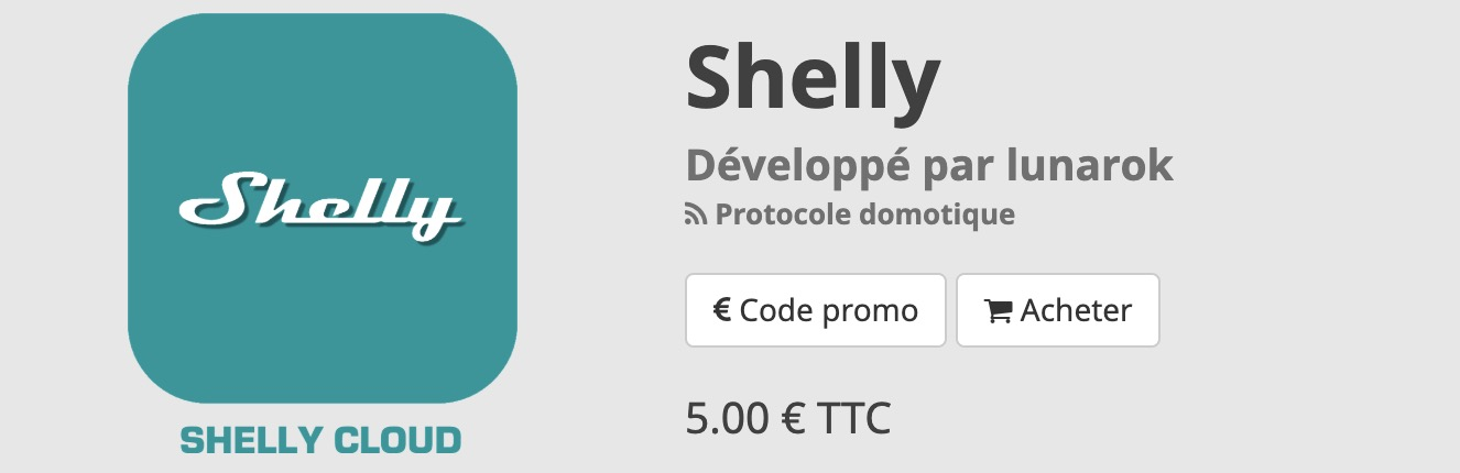 plugin shelly Jeedom