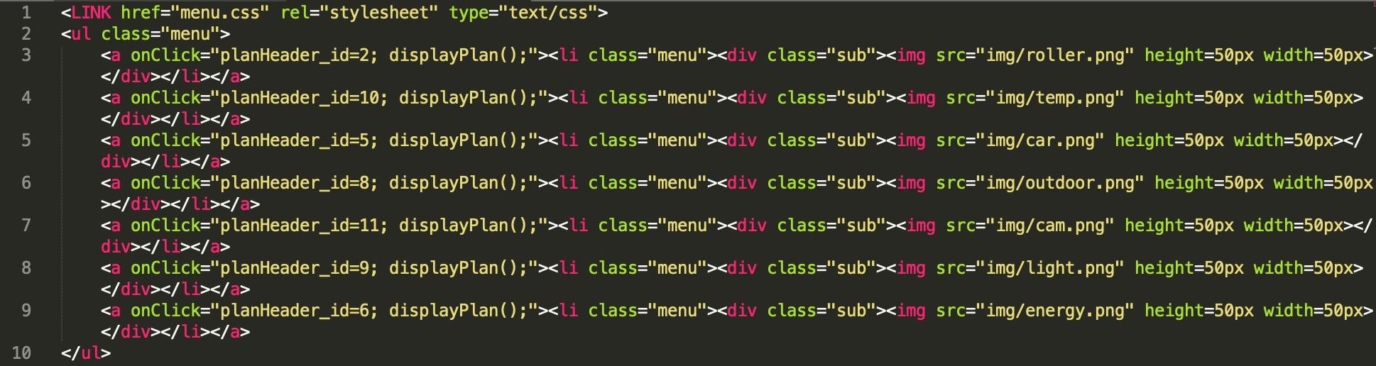 code-menu-jeedom-design